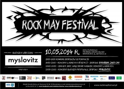 plakat__Rock May Festival_2014
